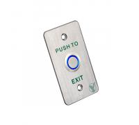 Кнопка виходу Yli Electronic PBK-814B(LED) з LED-підсвічуванням