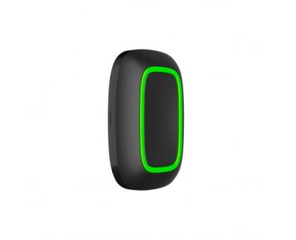 Бездротова тривожна кнопка Ajax Button black