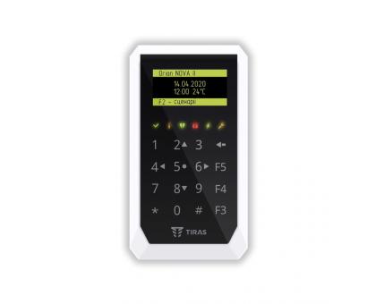 Сенсорна клавіатура K-PAD8 OLED+ для керування охоронною системою Orion NOVA II
