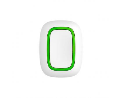 Бездротова тривожна кнопка Ajax Button white