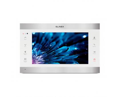 IP-відеодомофон Slinex SL-10 IPT silver&white