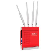 Точка доступу з мережним адаптером NETIS WRL ROUTER 1200MBPS 1000M/4P DUAL BAND WF2681
