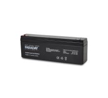 Акумулятор 12В 2 Аг для ДБЖ Faraday Electronics FAR2-12