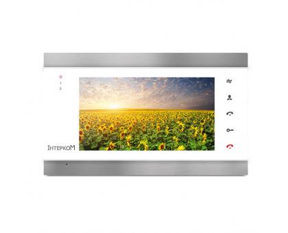 Відеодомофон Інтерком IM-02 silver/white