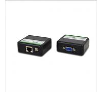 Пасивний приймач-передавач ATIS VGA Extender через RJ45 до 60 м