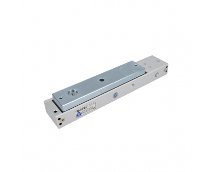 Електромагнітний замок Yli Electronic YM-280N(LED)-DS зі світловою індикацією, датчиком стану замка і дверей для системи контролю доступу