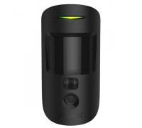 Бездротовий датчик руху Ajax MotionCam black ЕU з фотокамерою для підтвердження тривог