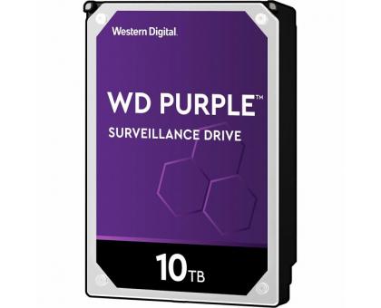 Жорсткий диск 10TB Western Digital WD102PURZ для відеоспостереження