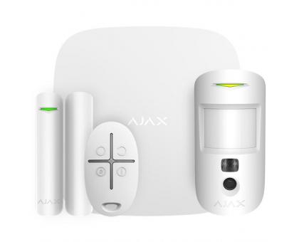 Комплект сигналізації Ajax StarterKit Cam white