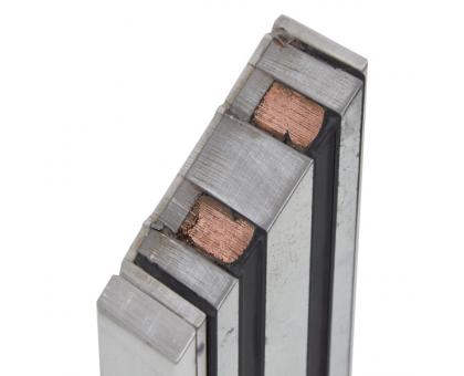 Електромагнітний замок YM-350W-S (вологостійкий) з датчиком стану замка для системи контролю доступу