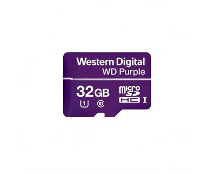 Карта пам'яті MICRO SDHC 32GB UHS-I/Western Digital PURPL/WDD032G1P0A WDC
