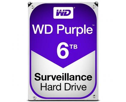 Жорсткий диск 6TB Western Digital WD60PURZ для відеоспостереження