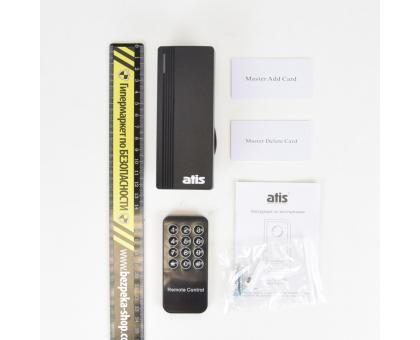 Контролер із вбудованим зчитувачем EM-Marine вологозахищений ATIS ACPR-07 EM-W (black)
