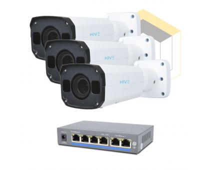 Комплект для керування і контролю доступу автотранспорту на 3 камери