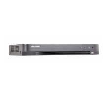 HD-TVI відеореєстратор 4-канальний Hikvision iDS-7204HQHI-M1/FA з підтримкою детекції облич з 1 каналу для системи відеоспостереження
