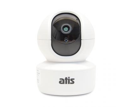 IP-відеокамера поворотна 2 Мп з Wi-Fi ATIS AI-262 для системи відеоспостереження