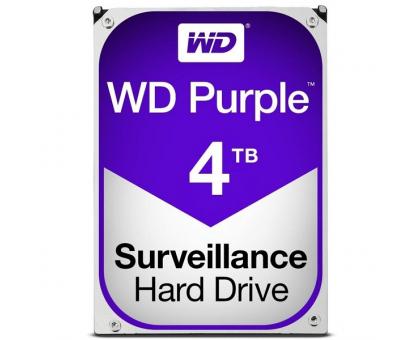 Жорсткий диск 4TB Western Digital WD40PURZ для відеоспостереження