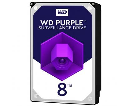 Жорсткий диск 8TB Western Digital WD82PURZ для відеоспостереження