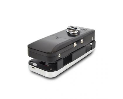 Smart замок ZKTeco GL300 right для скляних дверей зі сканером відбитку пальця і зчитувачем Mifare
