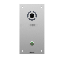 IP вызывная панель Bas-IP AV-04FD silver black для IP-домофонов