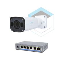 Комплект для керування і контролю доступу автотранспорту 2 на 1 камеру