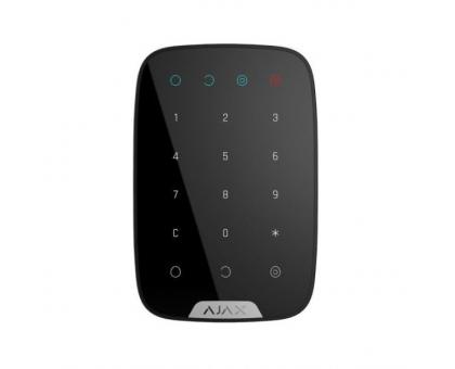 Бездротова сенсорна клавіатура Ajax Keypad black EU