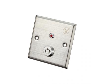 Кнопка виходу з ключем Yli Electronic YKS-850LS для системи контролю доступу