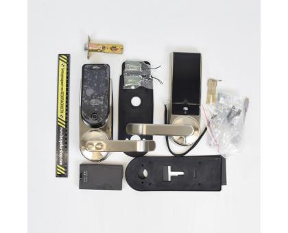 Smart замок ZKTeco HBL100B з Bluetooth, скануванням обличчя, відбитка пальця, карт Mifare