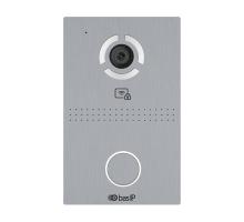 IP панель виклику Bas-IP AV-03BD silver зі зчитувачем UKEY для IP-домофонів