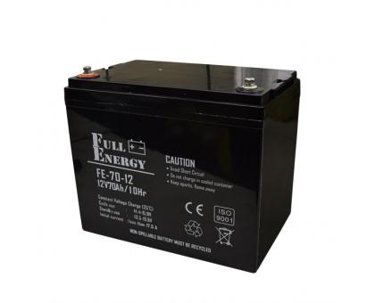 Акумулятор 12В 70 Аг для ДБЖ Full Energy FEP-1270