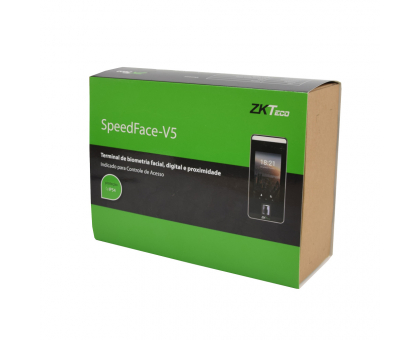 Біометричний термінал ZKTeco SpeedFace-V5 Wi-Fi
