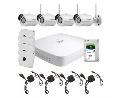 Комплект відеоспостереження WiFi kit 4cam