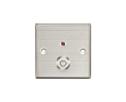 Кнопка виходу з ключем Yli Electronic YKS-850LM для системи контролю доступу