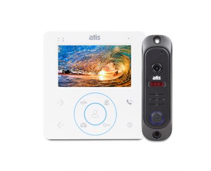Комплект відеодомофона ATIS AD-480MW Kit box