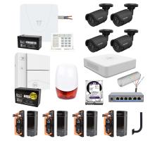 Комплект охоронної системи SUN Light для охорони малих сонячних електростанцій