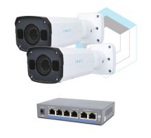 Комплект для керування і контролю доступу автотранспорту 2 на 2 камери