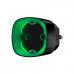 Радіокерована розумна розетка Ajax Socket black EU з лічильником енергоспоживання