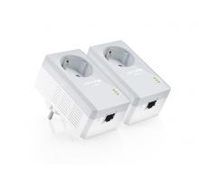 Адаптер Powerline TP-LINK TL-PA4010PKIT 2PK AV600 1xFE розетка
