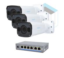 Комплект для керування і контролю доступу автотранспорту 2 на 3 камери
