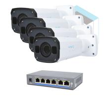 Комплект для керування і контролю доступу автотранспорту 2 на 4 камери