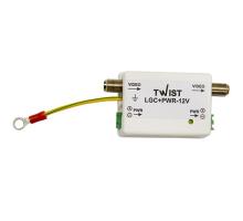 Twist-LGC+PWR12V грозозахист на коаксіал