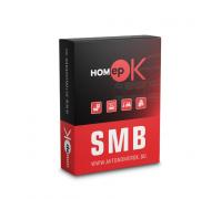 ПЗ для розпізнавання автономерів HOMEPOK SMB 12 каналів для керування СКУД